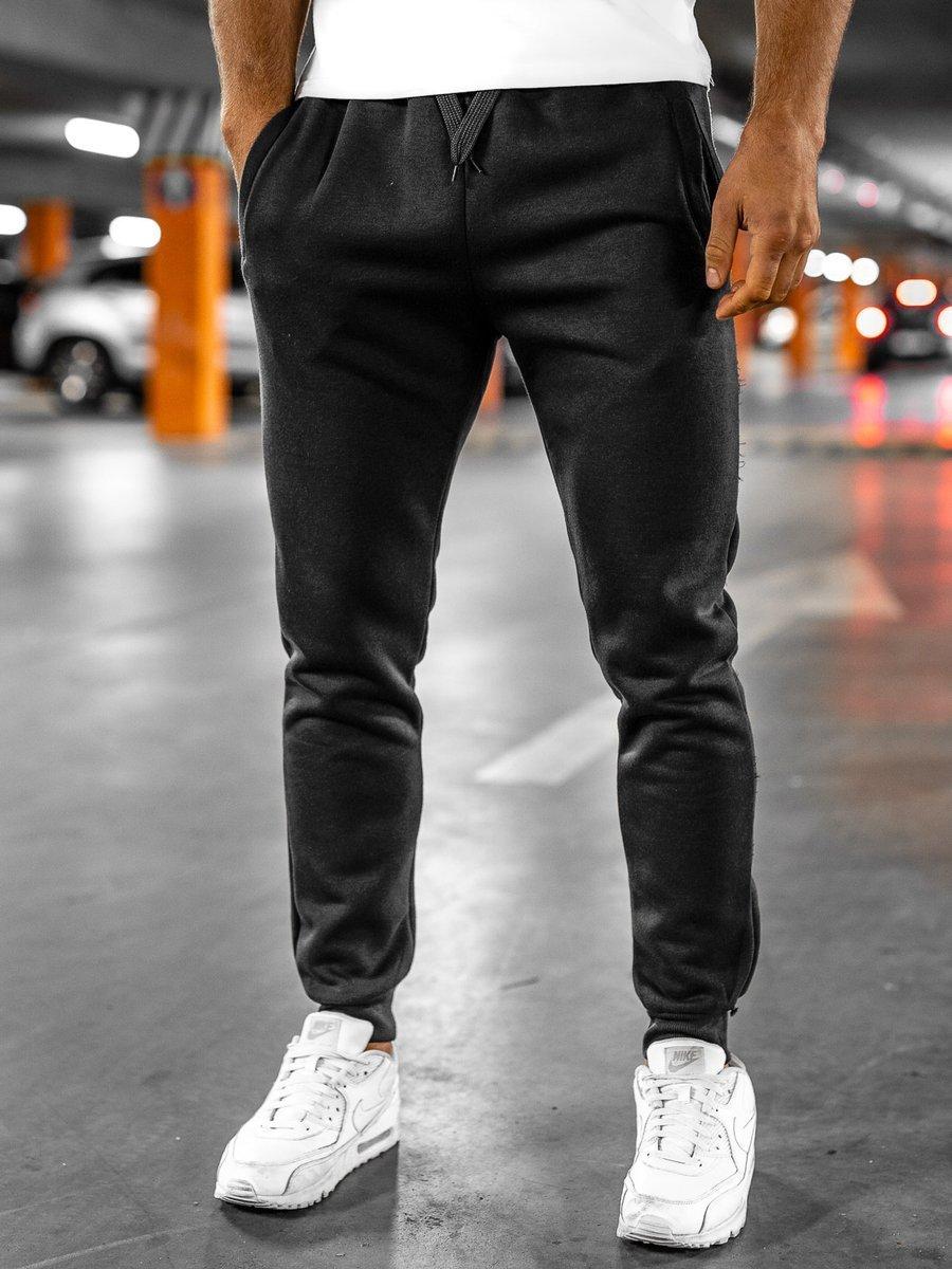 Pantaloni de trening negri Bolf XW01 imagine