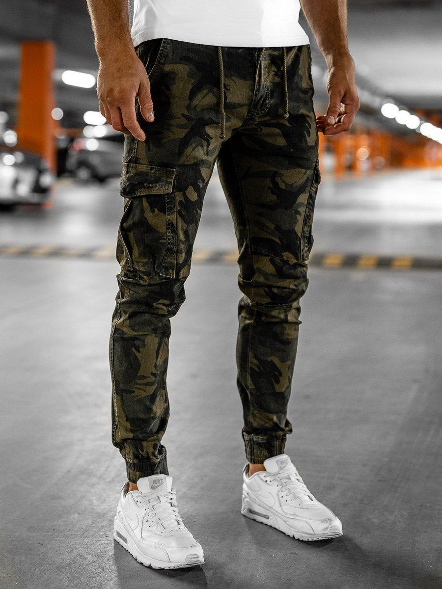 Pantaloni cargo kaki bărbați Bolf CT6017