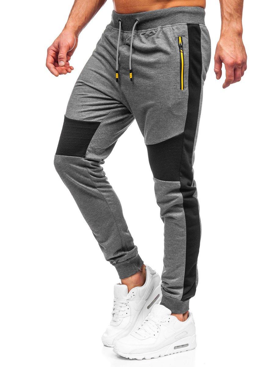 Pantaloni de trening grafit Bolf K10205