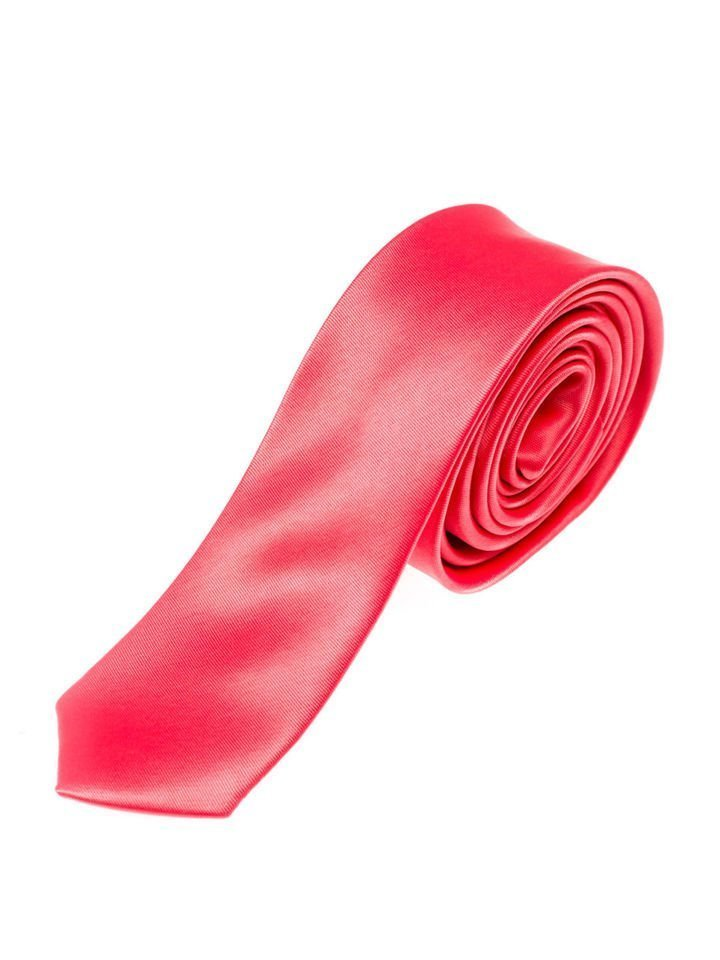 Cravată elegantă pentru bărbat coral Bolf K001
