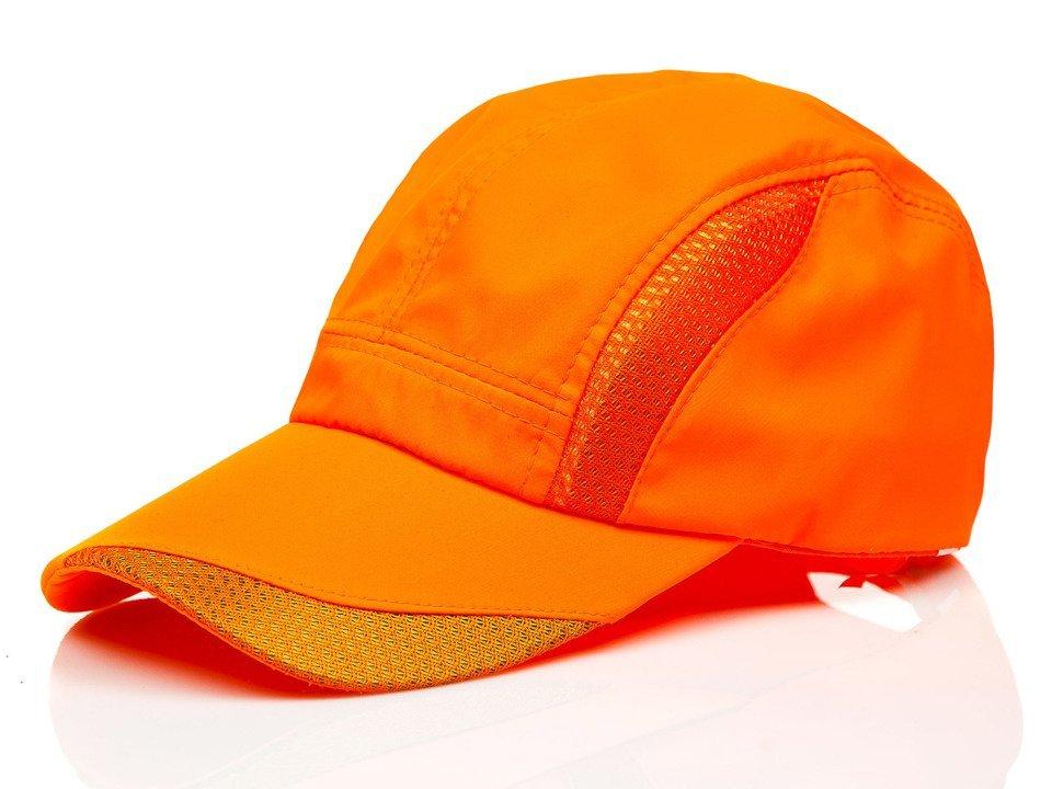 Șapcă cu cozoroc portocaliu Bolf CZ26A