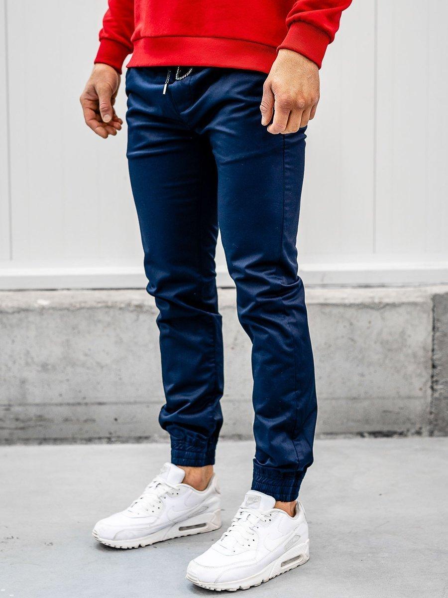 Pantaloni joggers bleumarin Bolf KA952