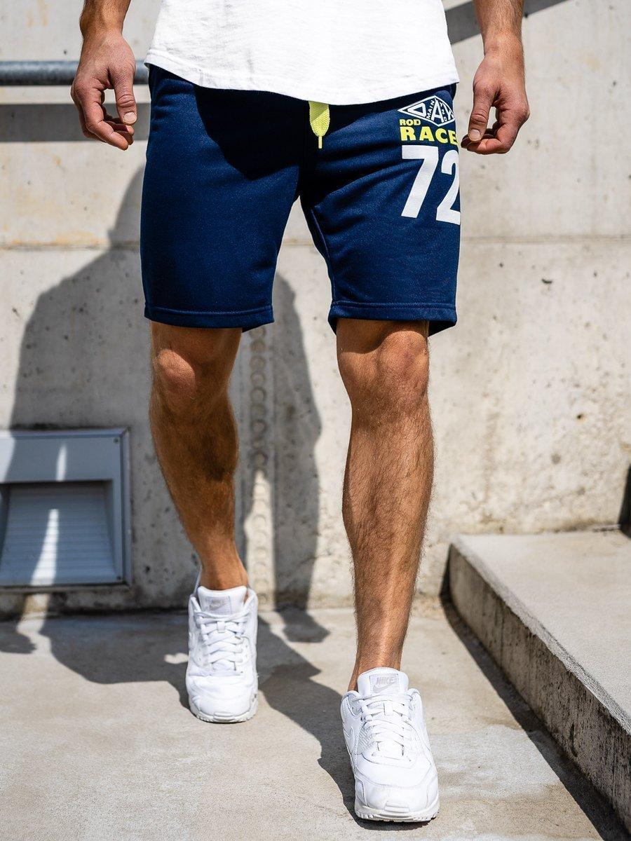 Pantaloni scurți sportivi pentru bărbat bluemarin Bolf EX05 imagine