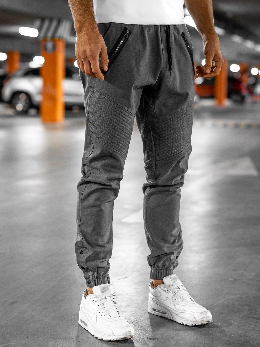 Pantaloni joggers bărbați gri Bolf 0952 imagine