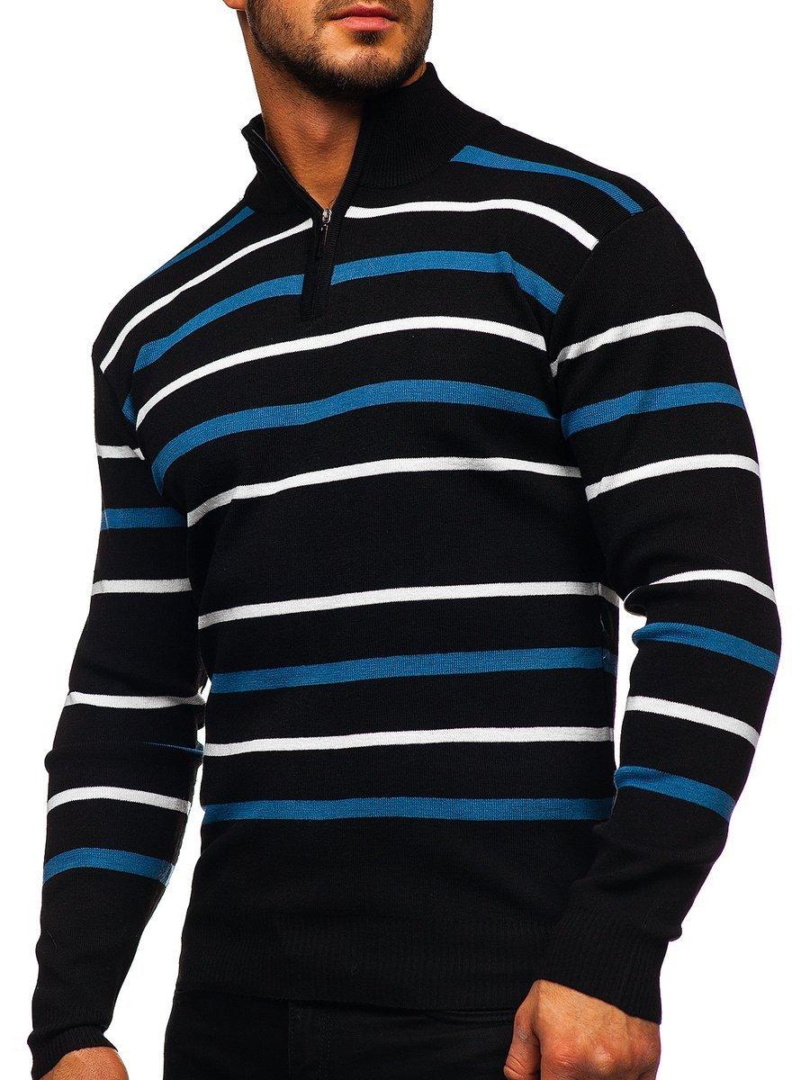 Pulover bărbați negru Bolf W05