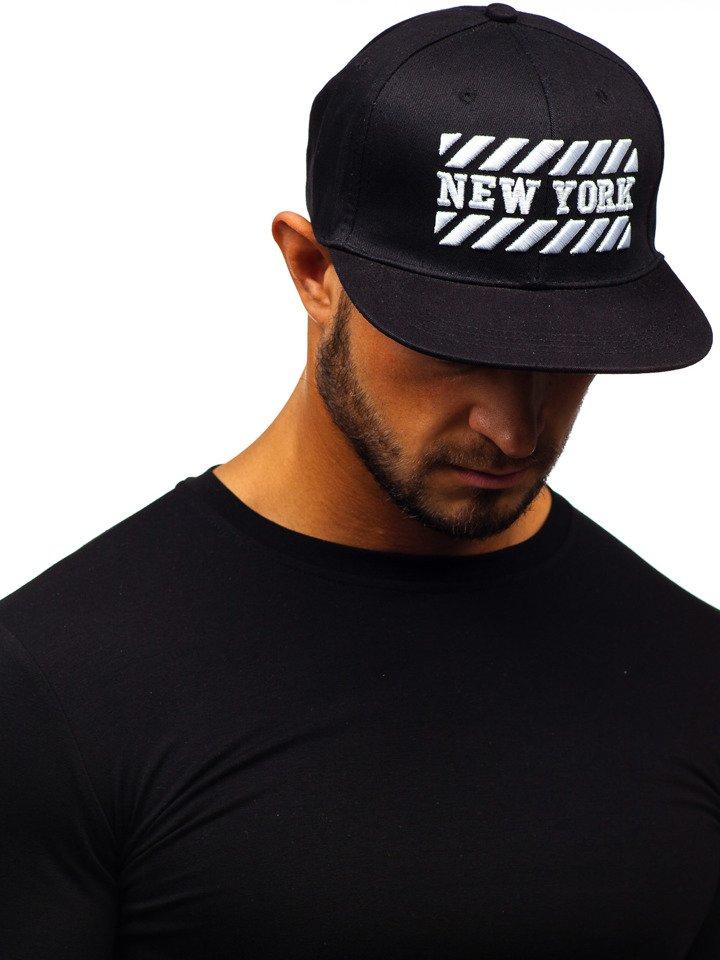 Șapcă cu cozoroc bărbați negru Bolf CZ12 imagine