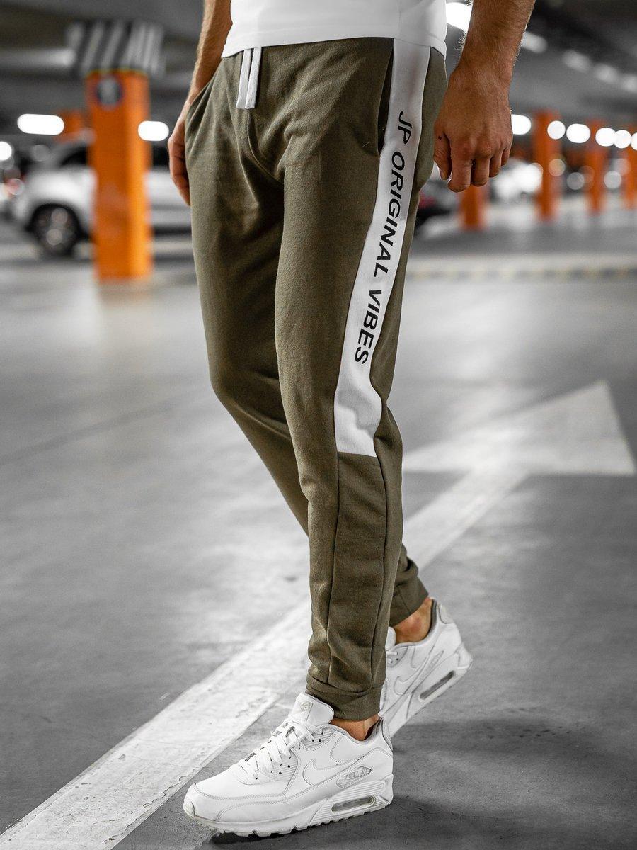 Pantaloni de trening kaki Bolf N1216 imagine
