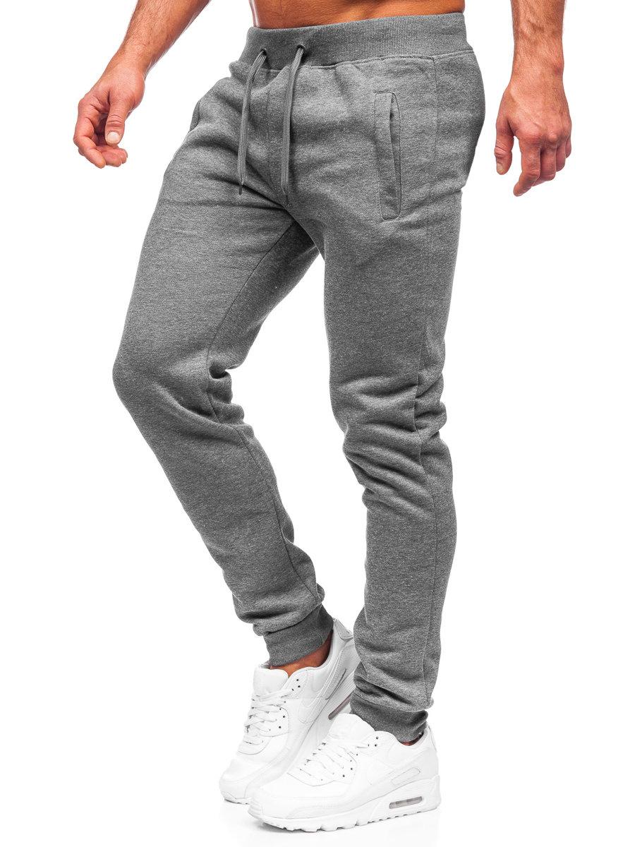 Pantaloni de trening bărbați grafit Bolf XW01-A imagine