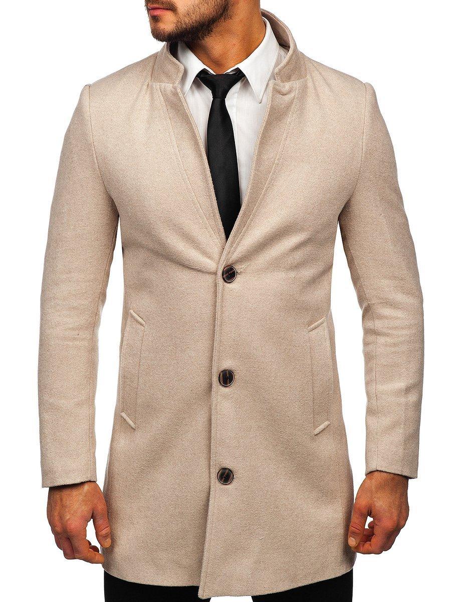 Palton de iarnă bej Bolf 0010 imagine