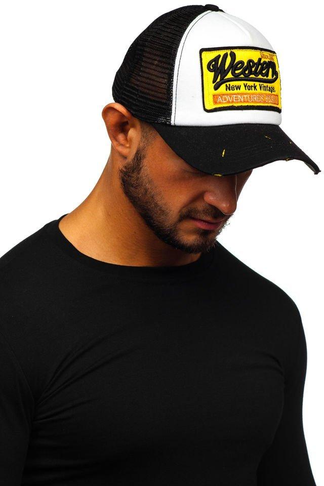 Șapcă cu cozoroc negru Bolf CZ1-1 imagine