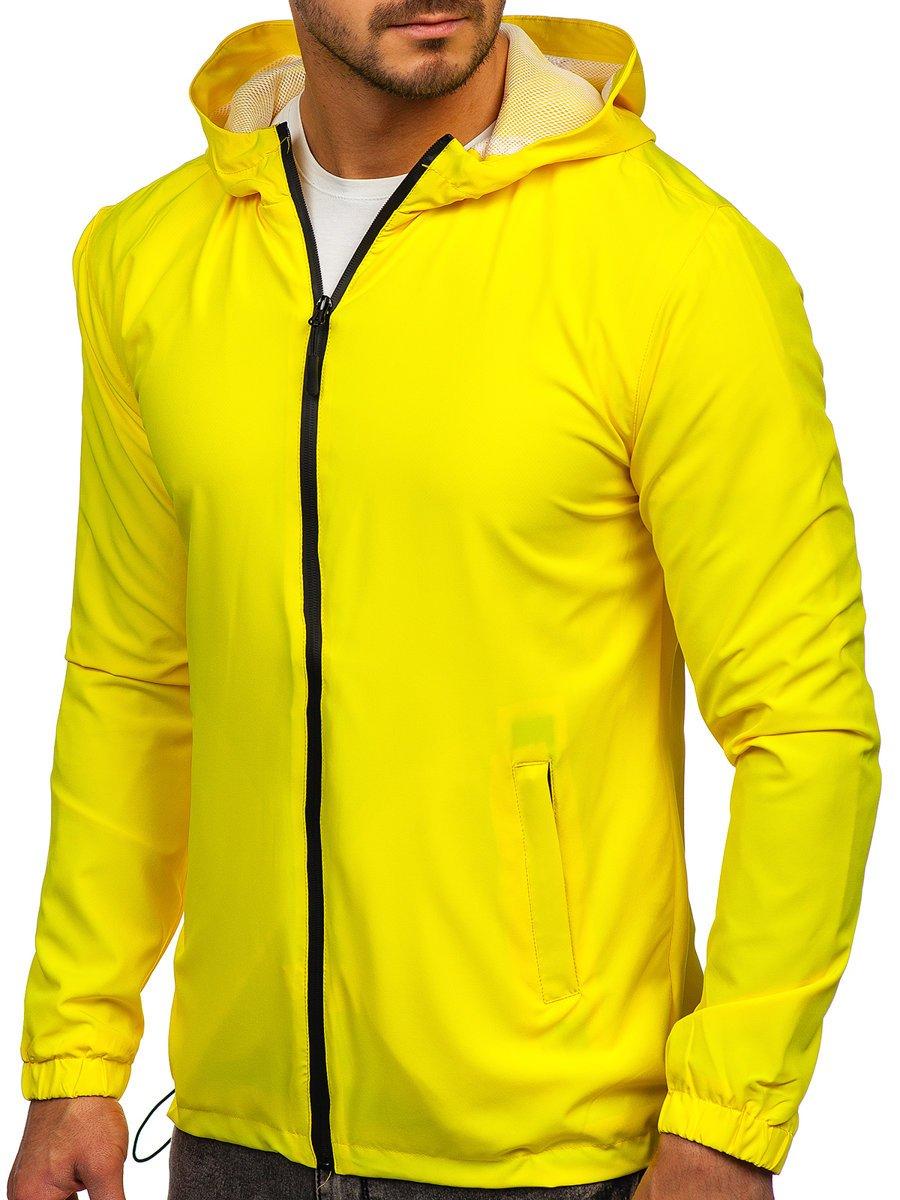 Geacă galbenă sport Bolf HH035