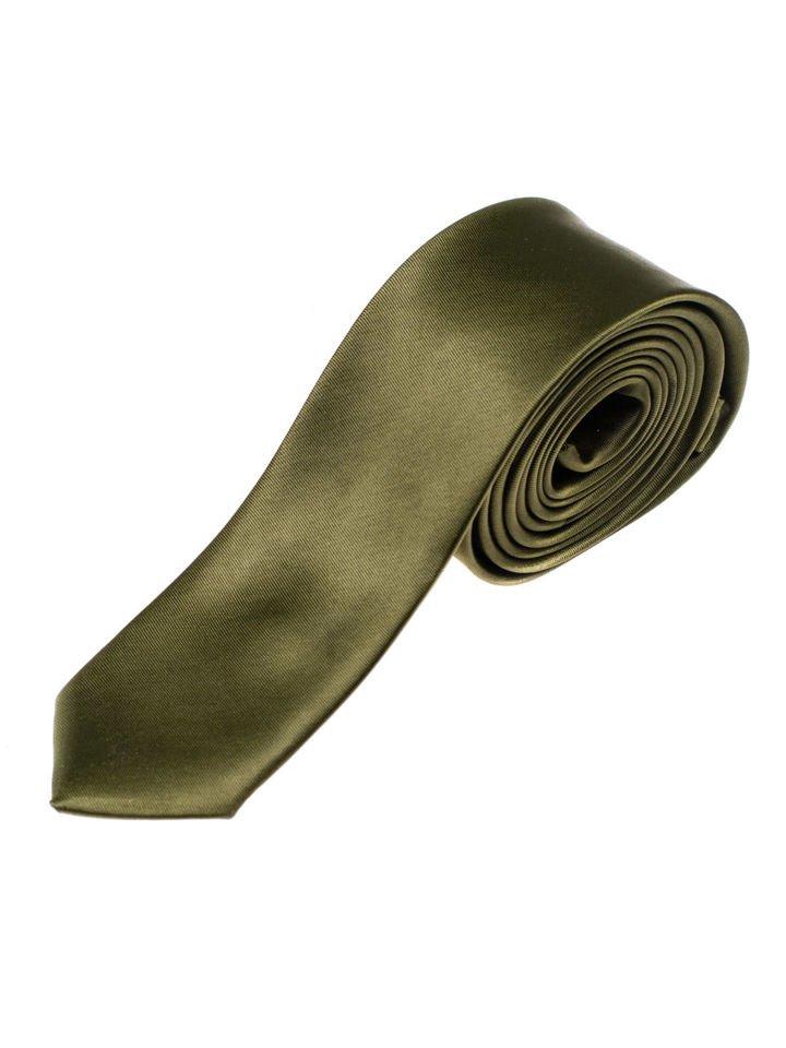 Cravată elegantă pentru bărbat gri-închis Bolf K001