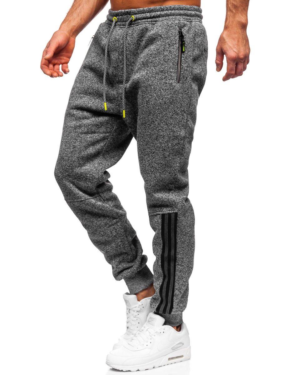 Pantaloni de trening grafit Bolf TC937