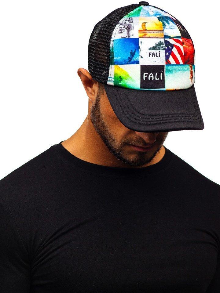 Șapcă cu cozoroc negru Bolf CZ39-9 imagine