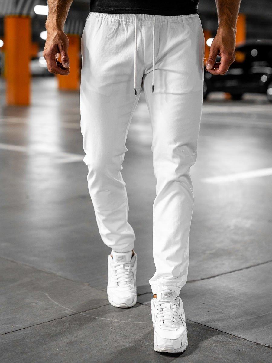 Pantaloni joggers albi Bolf 1145 imagine