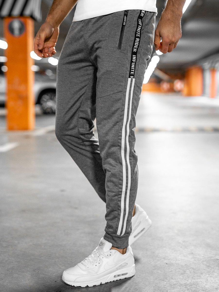 Pantaloni de trening gri Bolf JX9507 imagine