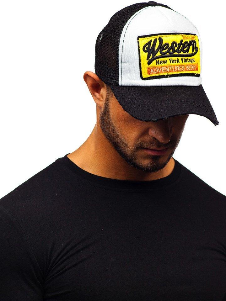 Șapcă cu cozoroc neagră Bolf CZ1 imagine