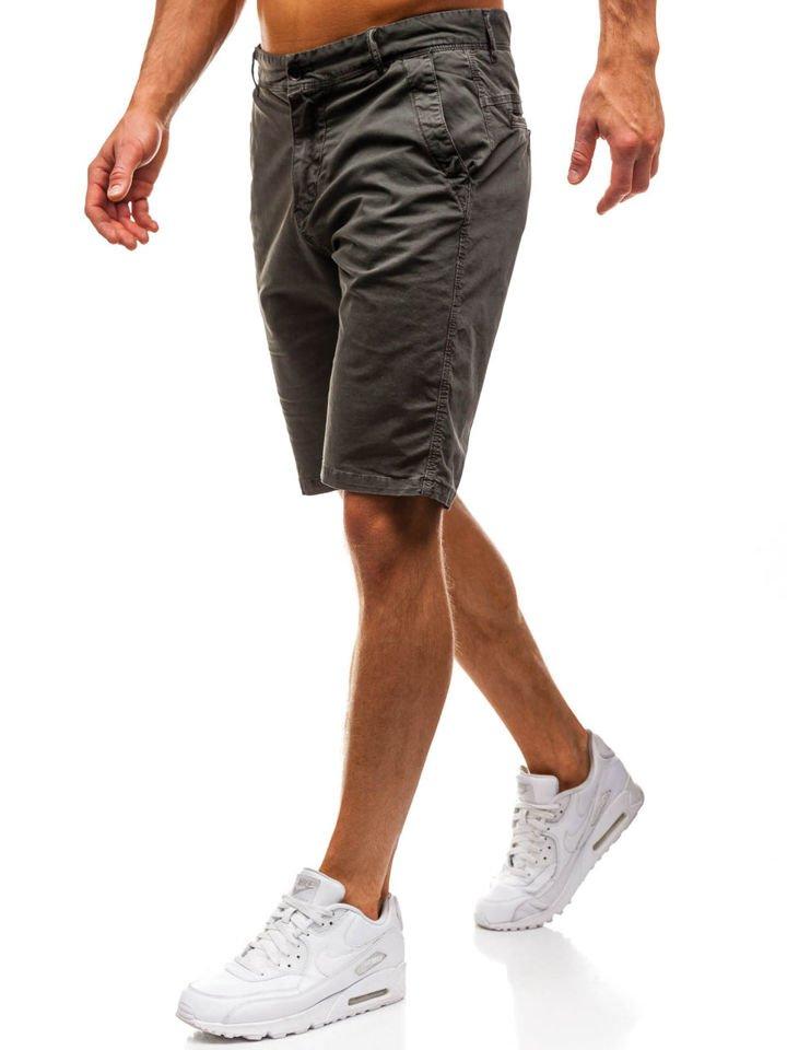 Pantaloni scurți pentru bărbat verzil Bolf 82227 imagine