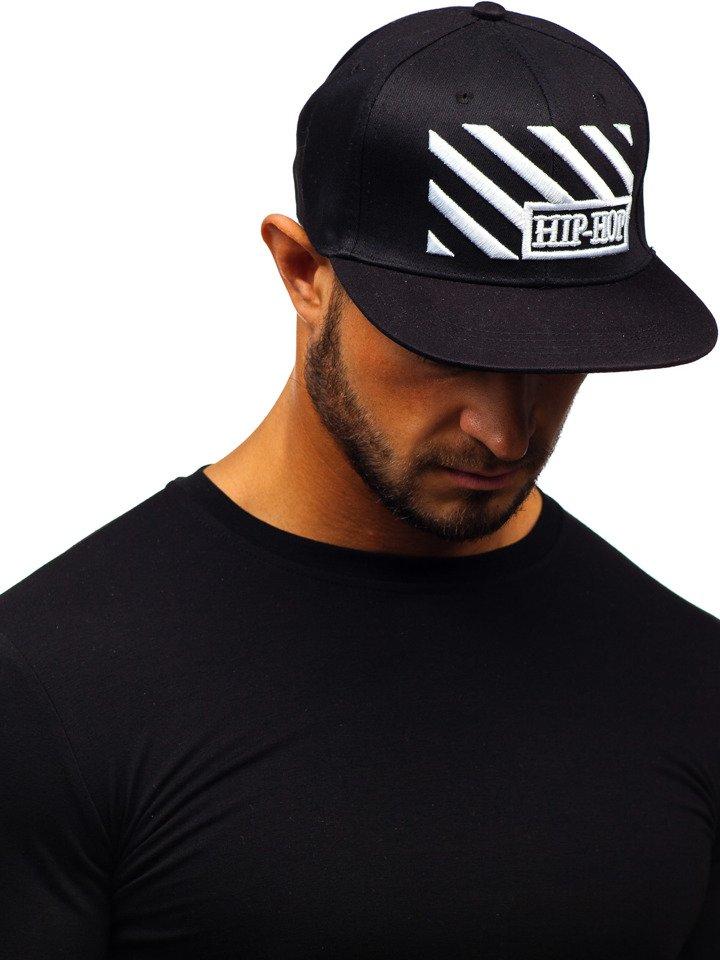 Șapcă cu cozoroc bărbați negru Bolf CZ13 imagine
