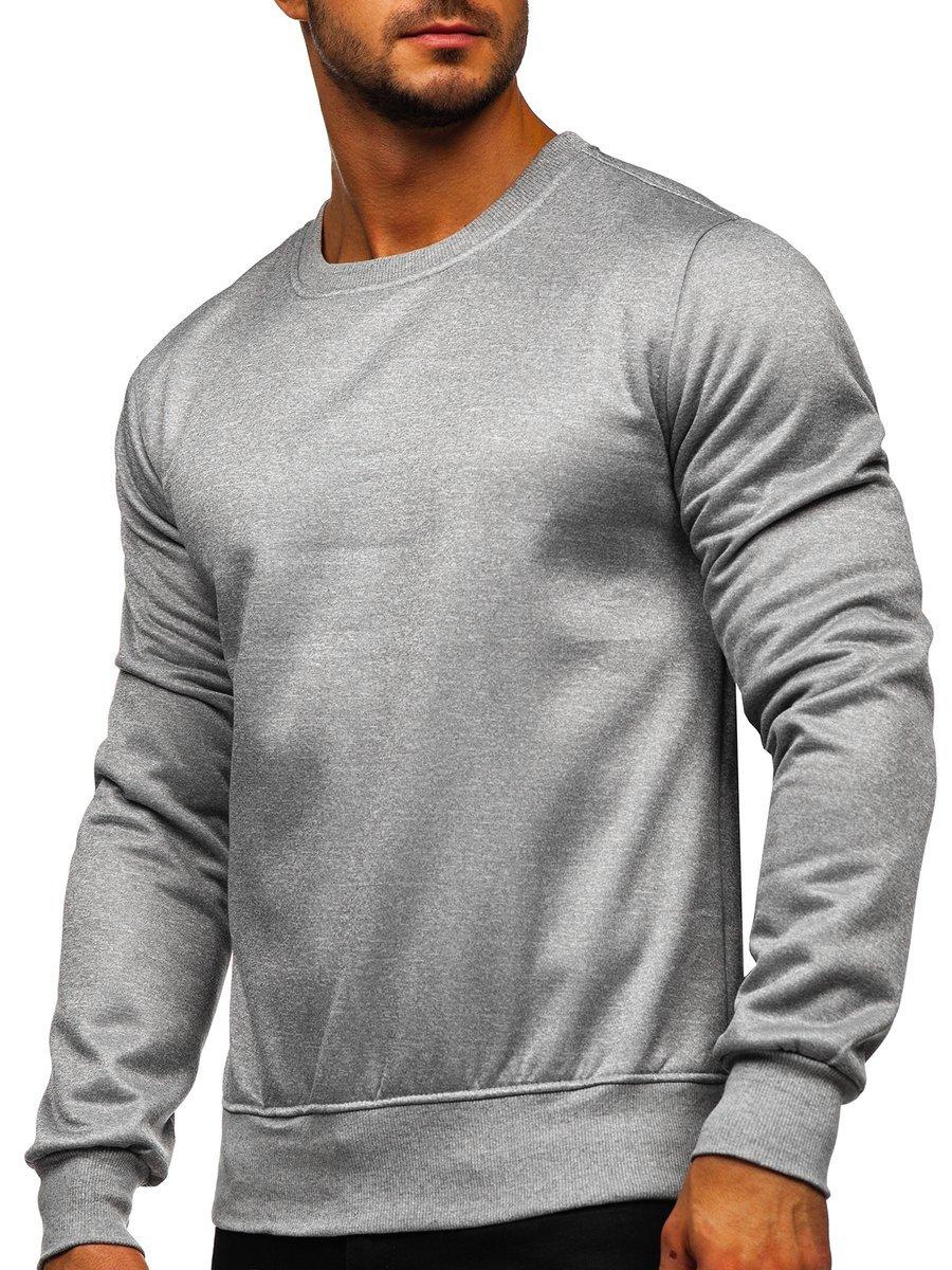Bluză bărbați gri Bolf 2001-2 imagine