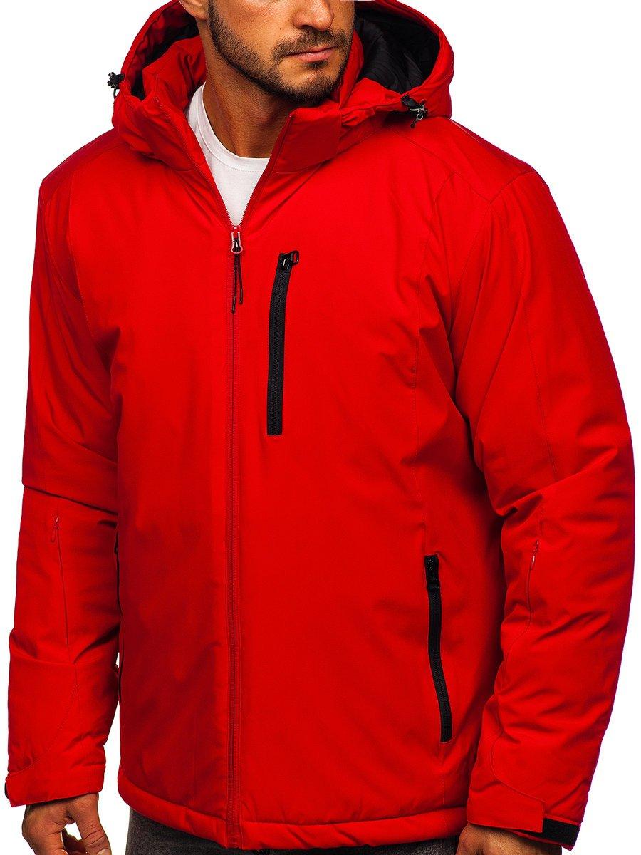 Geacă ski sport bărbați roșie Bolf HH011