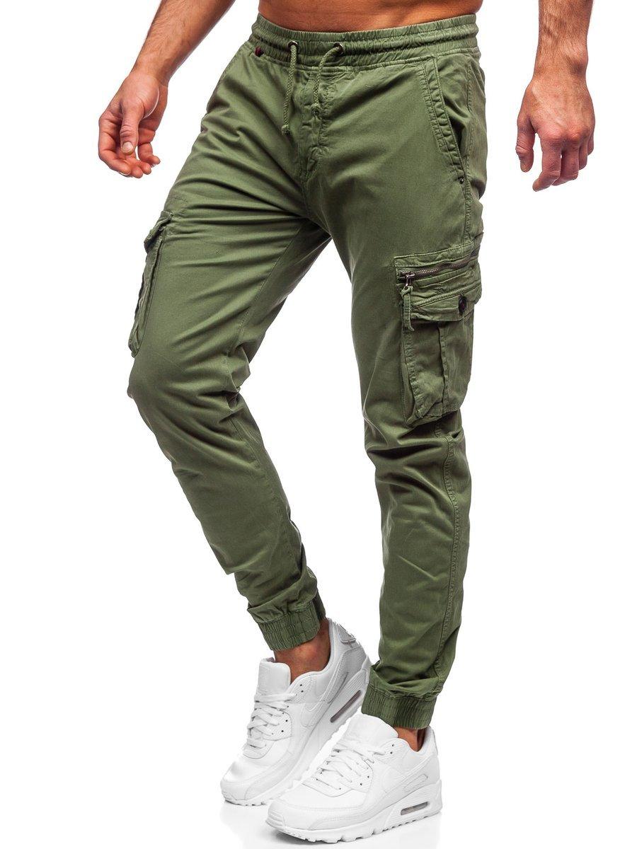Pantaloni cargo verzi Bolf CT6706S0