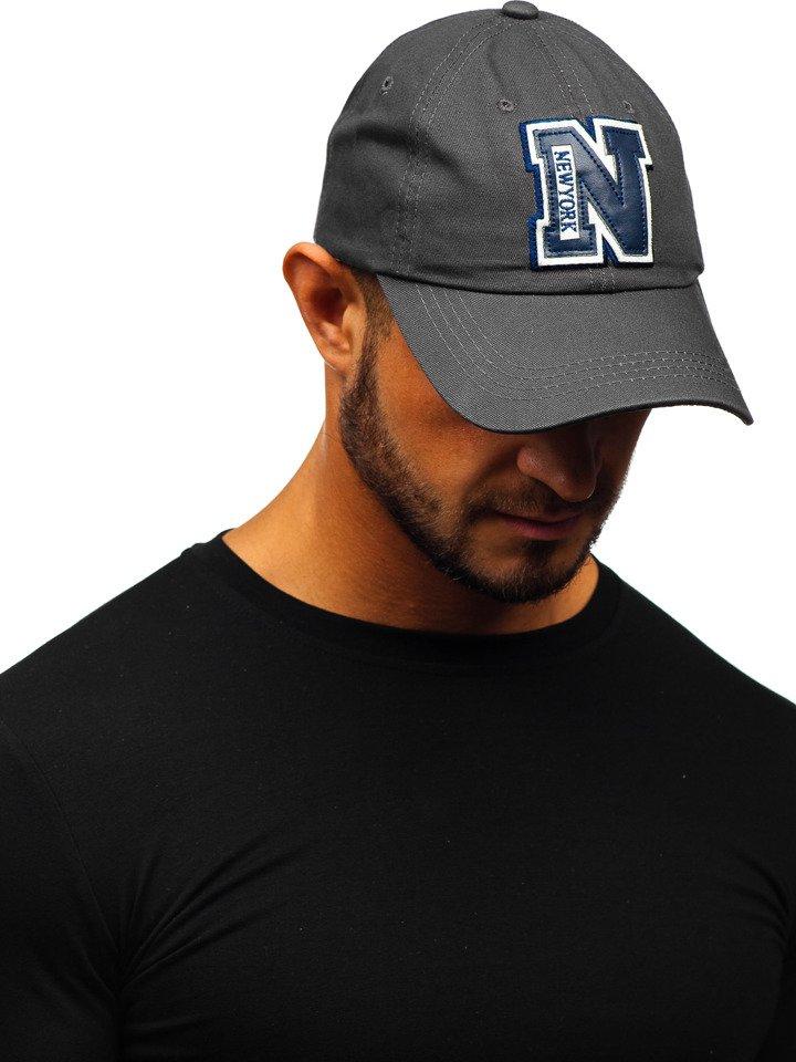 Șapcă cu cozoroc grafit Bolf CZ19 imagine