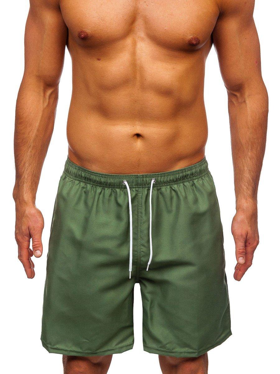 Pantaloni scurți de baie verzi Bolf ST003 imagine