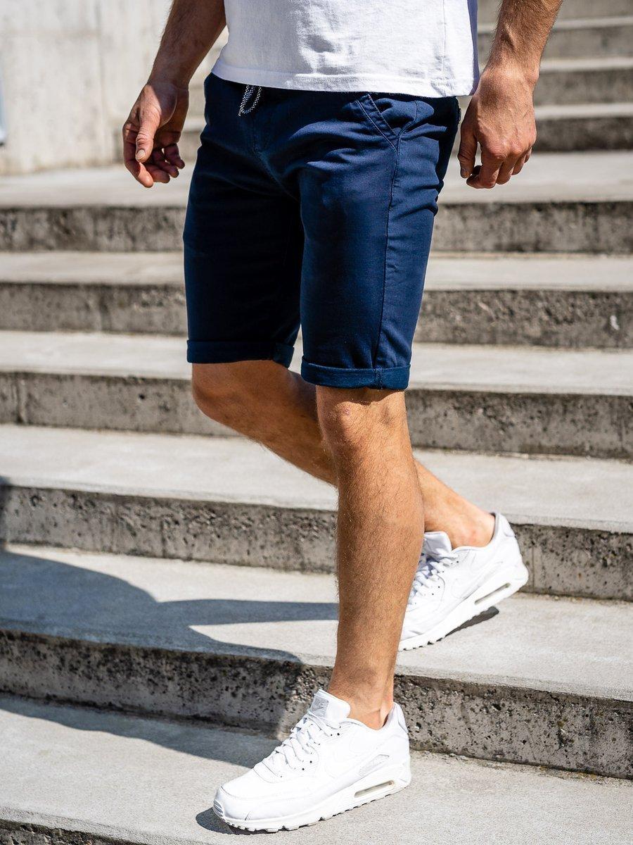 Pantaloni scurți bleumarin bărbati Bolf KG3720 imagine