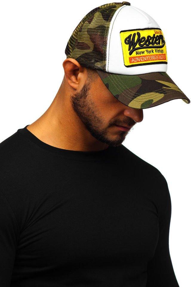 Șapcă cu cozoroc kaki Bolf CZ1 imagine