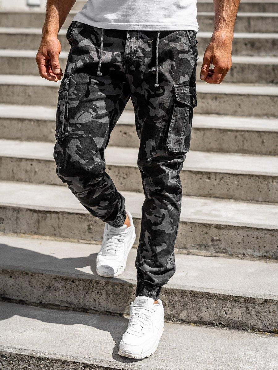 Pantaloni cargo grafit bărbați Bolf CT6018