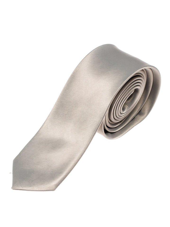 Cravată elegantă pentru bărbat gri Bolf K001