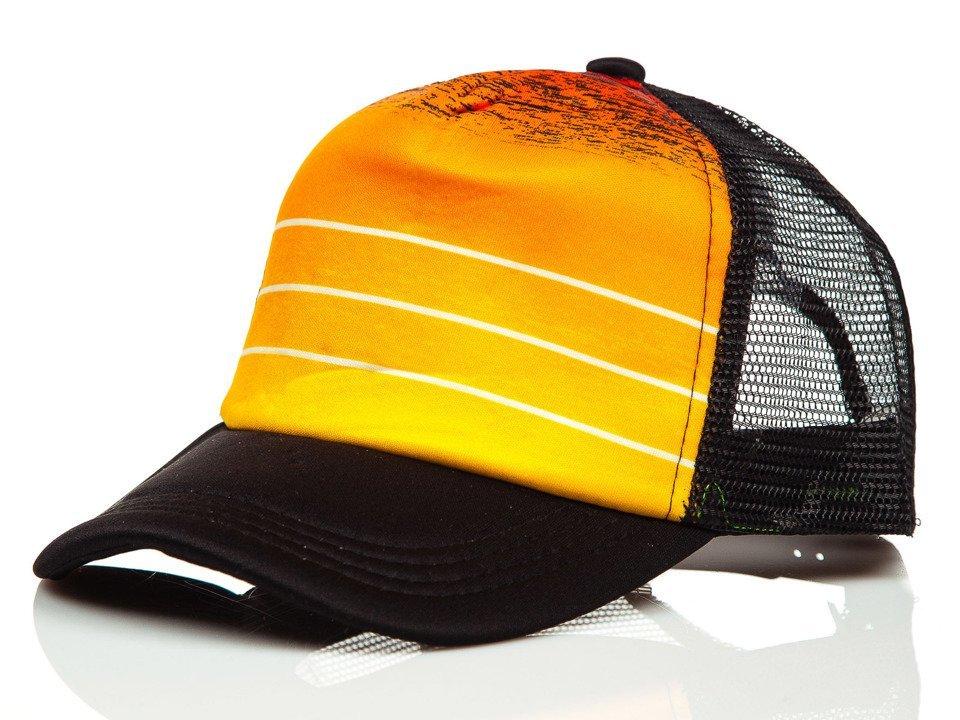 Șapcă cu cozoroc portocaliu Bolf CZ39-2