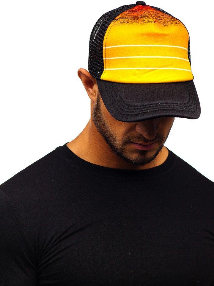Șapcă cu cozoroc portocaliu Bolf CZ39-2 imagine