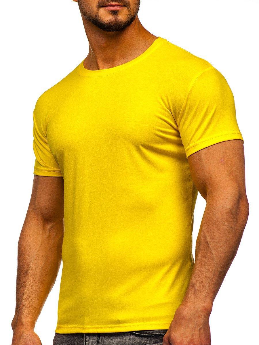 Tricou bărbați galben-neon Bolf 2005 imagine