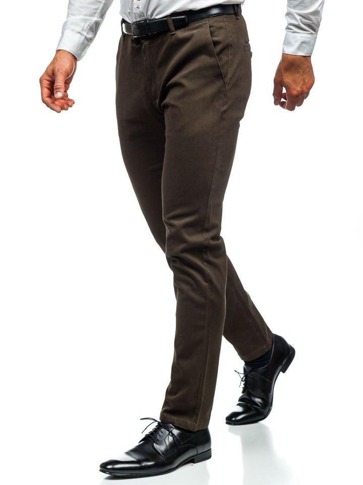 Pantaloni chino bărbați kaki Bolf 1120 imagine