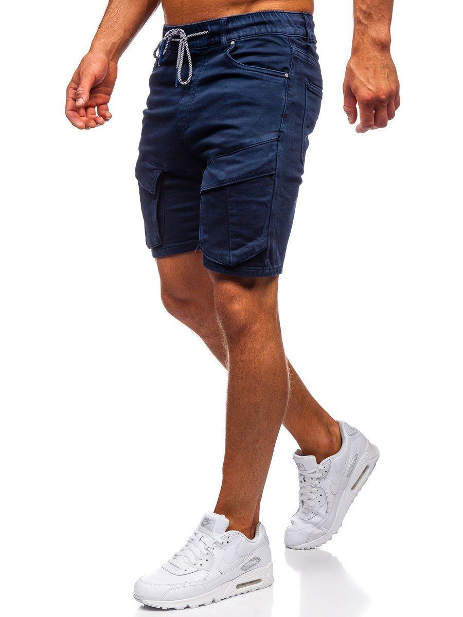 Pantaloni scurți bleumarin Bolf KGP3690 imagine