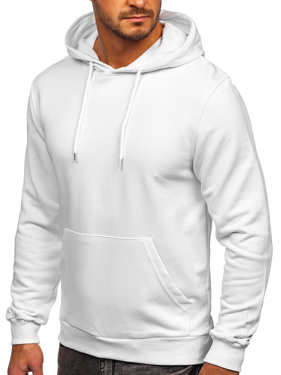 Hanorac alb bărbați Bolf 146253