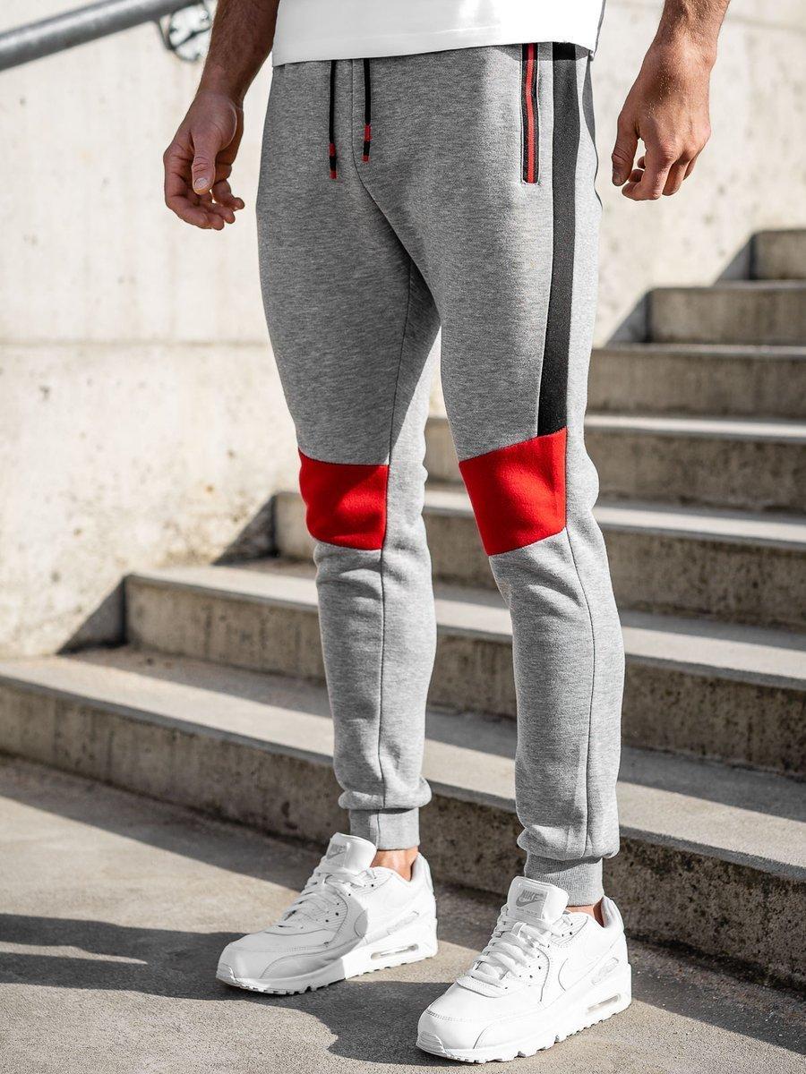 Pantaloni de trening gri Bolf K10019 imagine