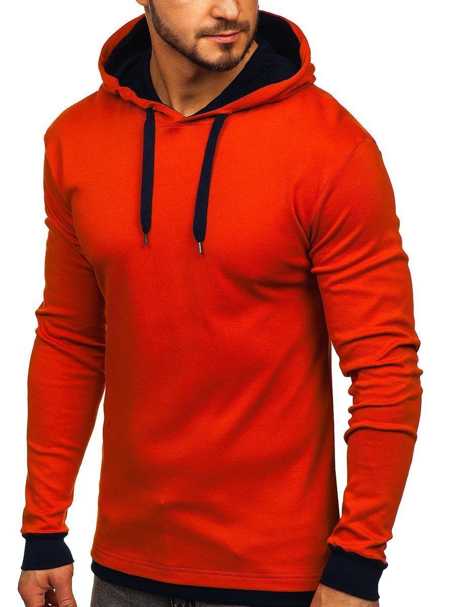 Hanorac portocaliu bărbați Bolf 145380