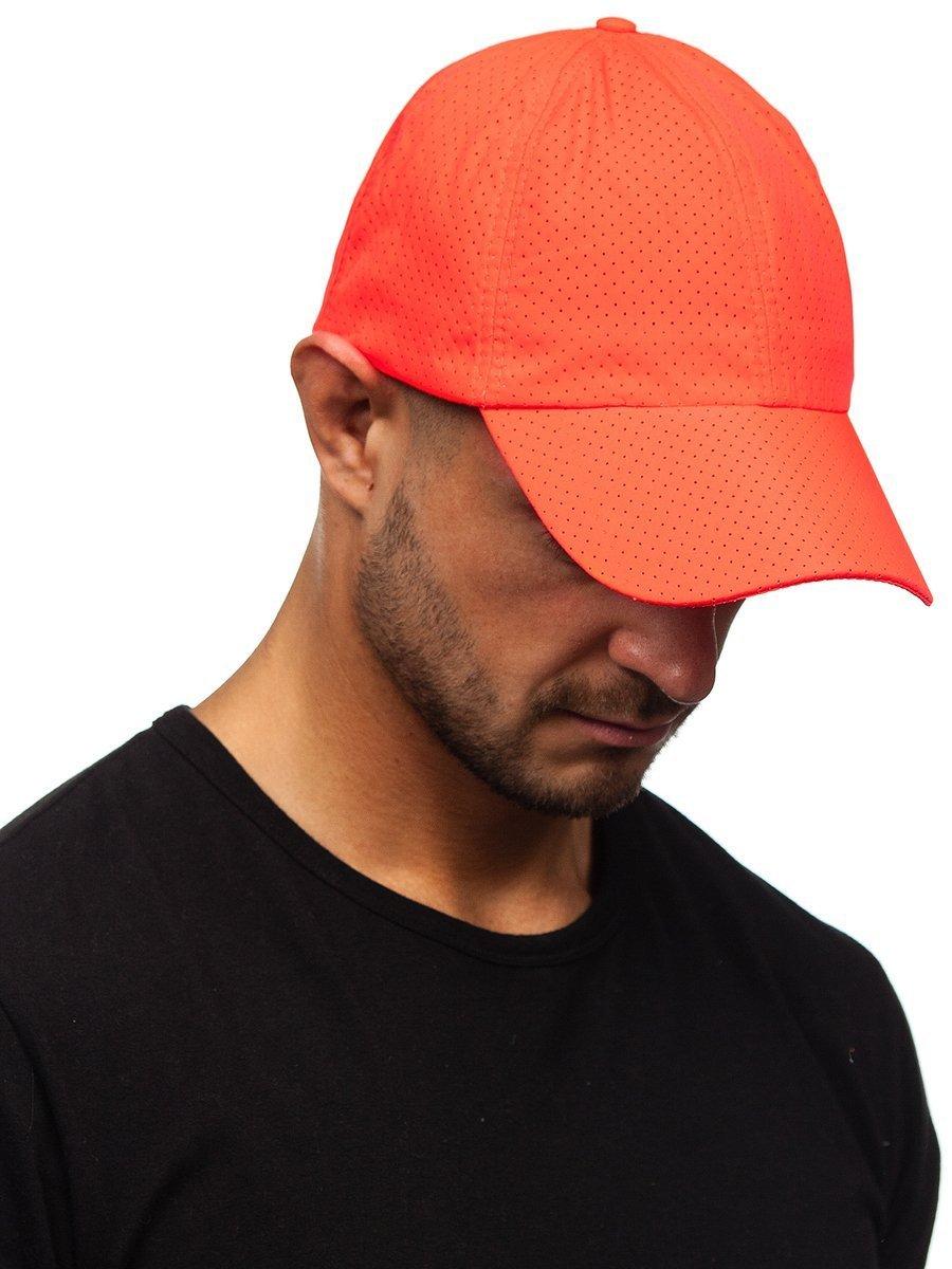Șapcă cu cozoroc portocaliu Bolf CZ29A imagine