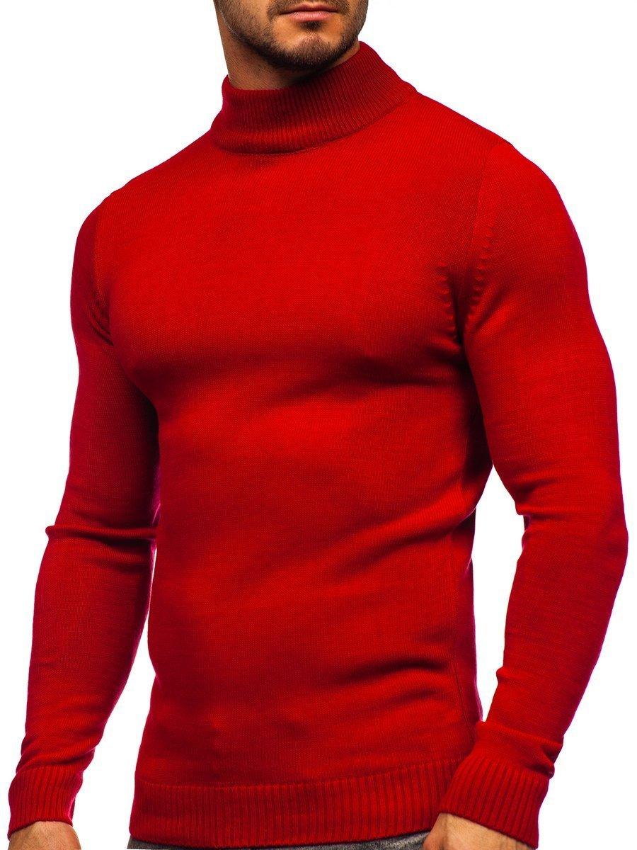 Pulover maletă roșu Bolf 4600 imagine
