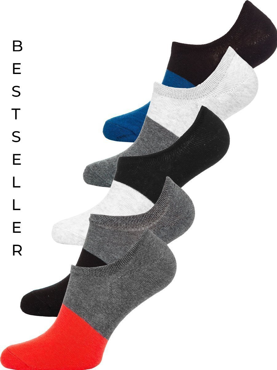 Șosete multicolor bărbați Bolf X10168-5P 5 PACK