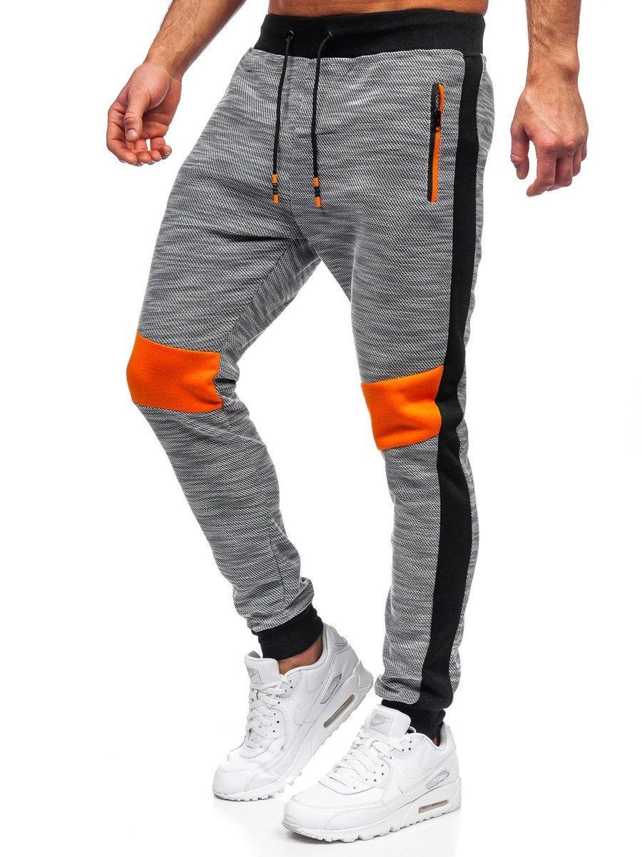 Pantaloni de trening gri Bolf K60021