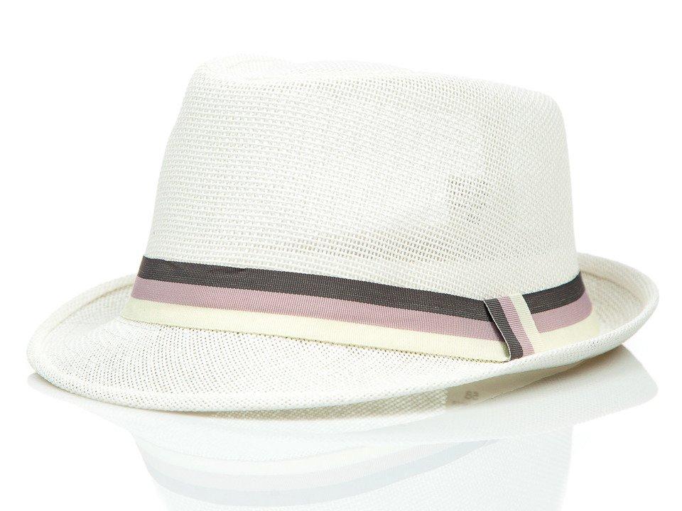 Pălărie bărbați alb Bolf KAP214