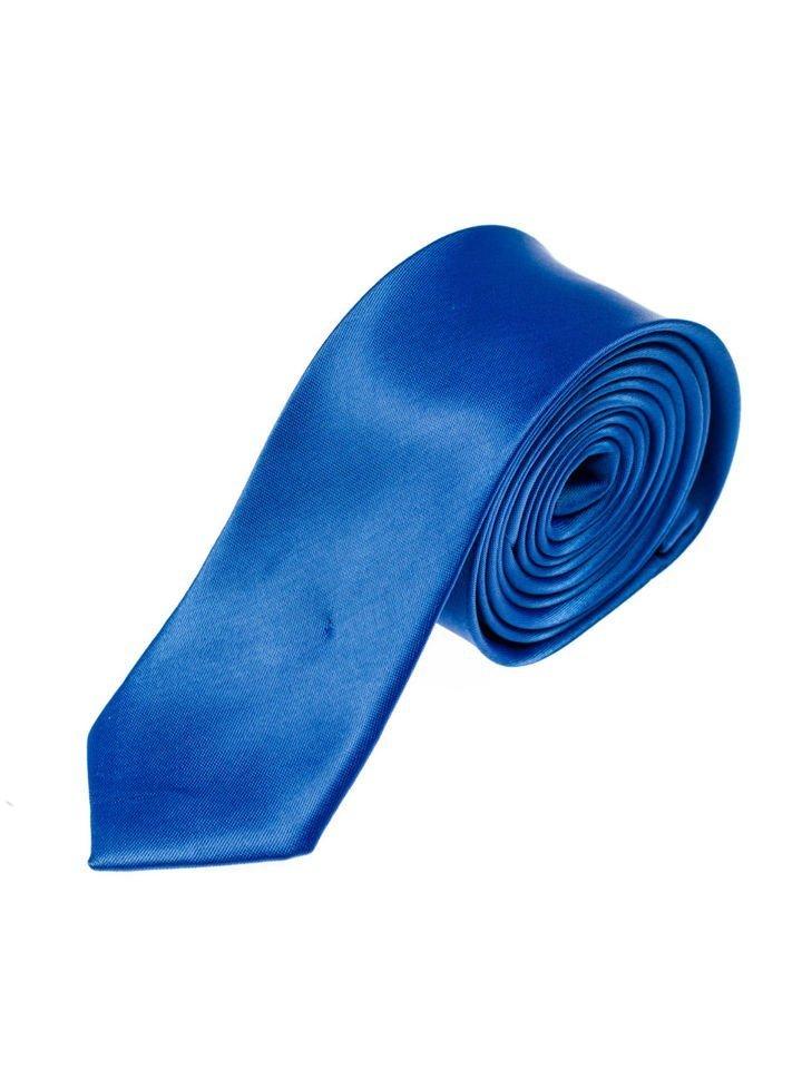 Cravată elegantă pentru bărbat albastră Bolf K001 imagine