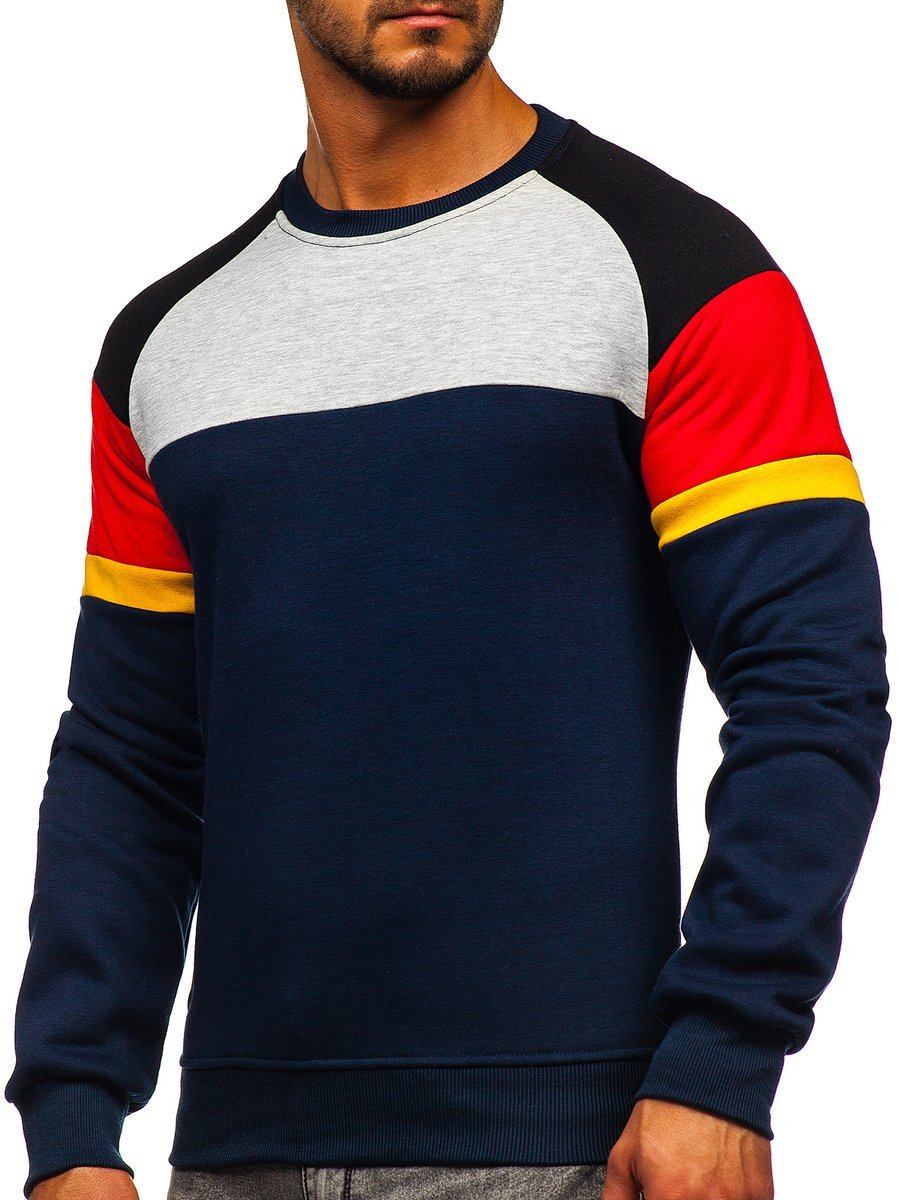 Bluză bleumarin bărbați Bolf KS2219