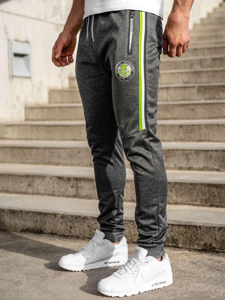 Pantaloni de trening grafit Bolf K50010 imagine