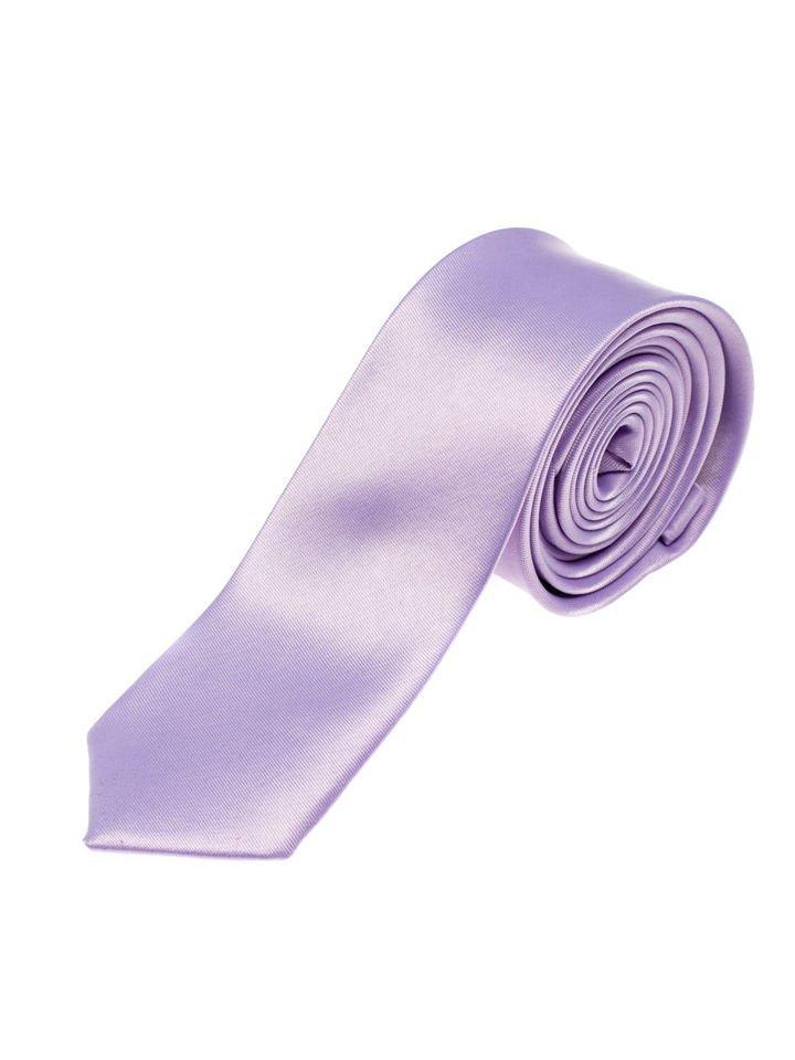 Cravată elegantă pentru bărbat violet Bolf K001 imagine