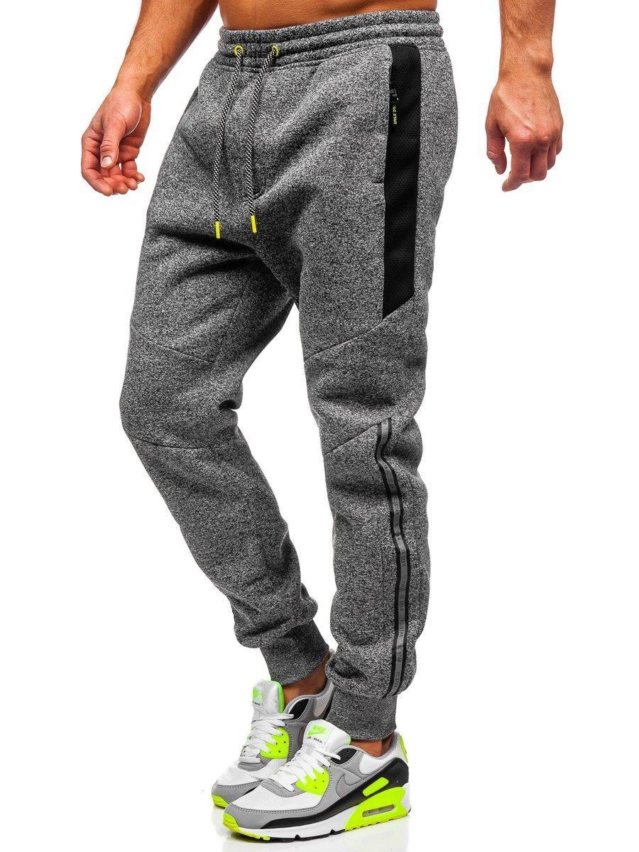 Pantaloni de trening bleumarin Bolf TC984